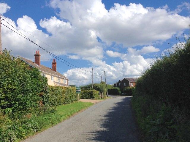 Battle Lane, near Wanshurst Green