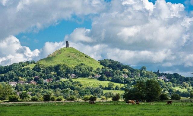 Glastonbury Tor: View of an iconic landmark