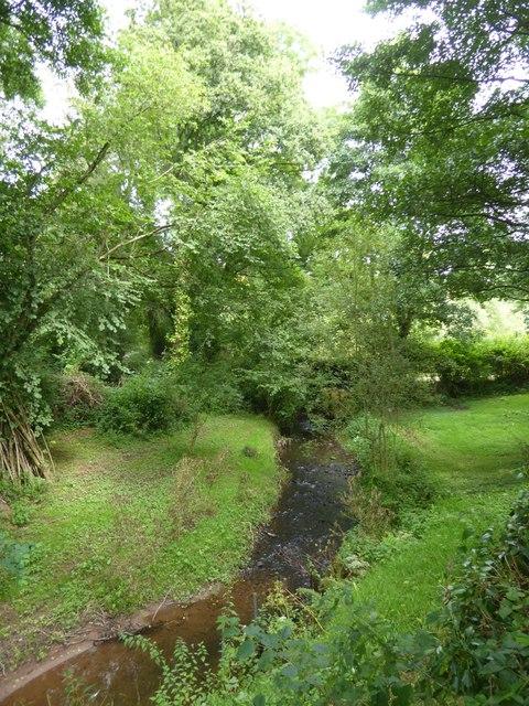 The Burn River near Underleigh