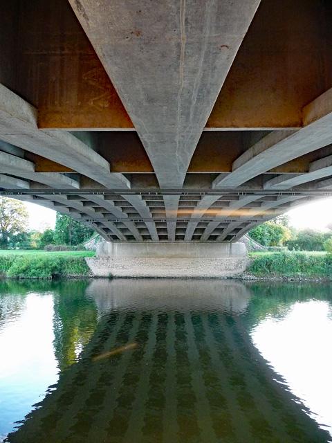Detail of Bridstow Bridge near Ross-on-Wye