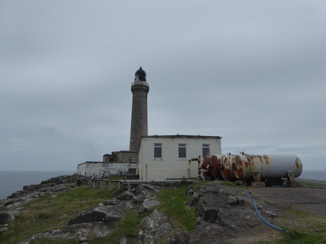Lighthouse buildings at Ardnamurchan Point
