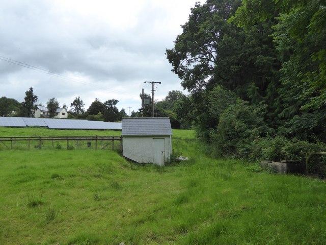 A mixed field south of Butterleigh