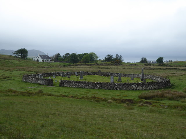 Graveyard at Kilmory