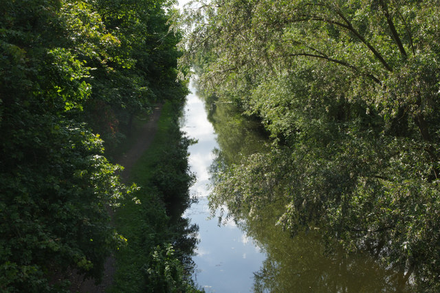 Grand Union Canal (Slough Branch), near Iver