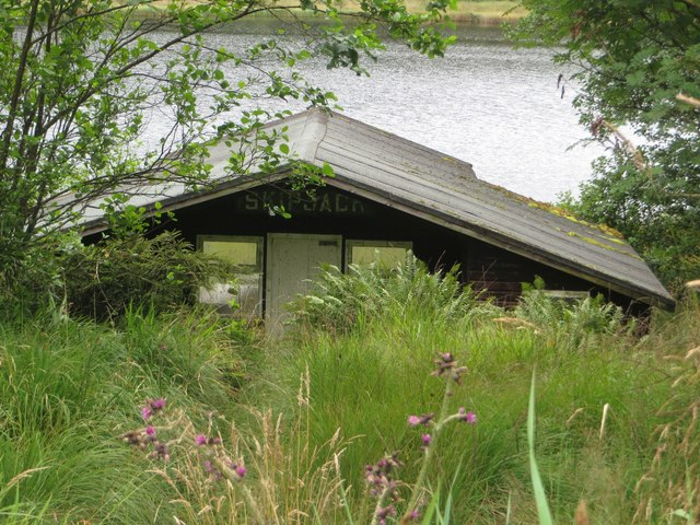 Skipjack lodge, Blackaburn Lough