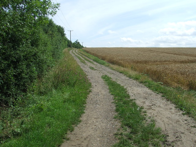 Farm Track And Path