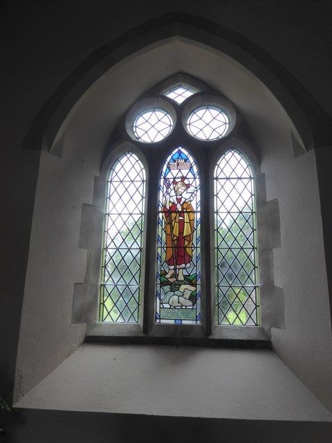 East window, north aisle, St Matthew's, Butterleigh