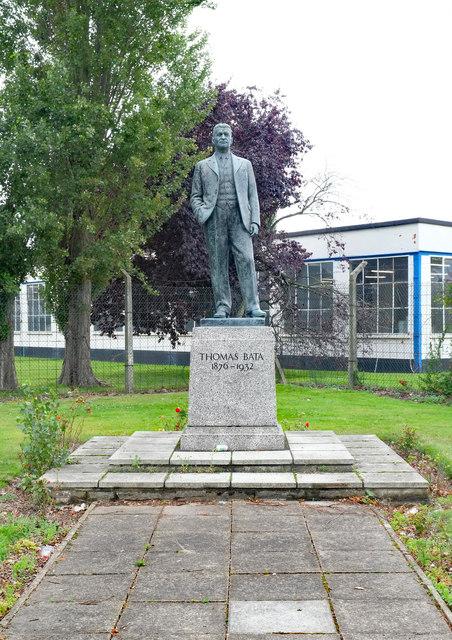 Thomas Bata statue, East Tilbury