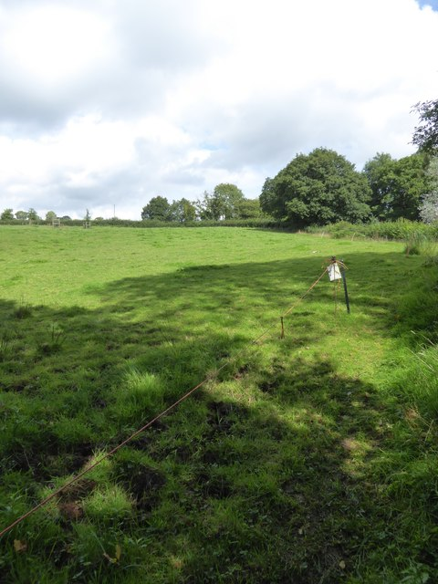 Field and footpath at Fillbrook