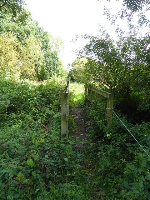 Footbridge near Underleigh Farm