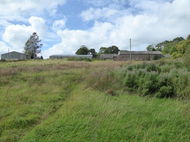 Farm buildings at Underleigh Farm