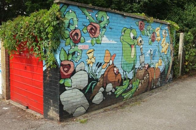 Mural, Redland Station