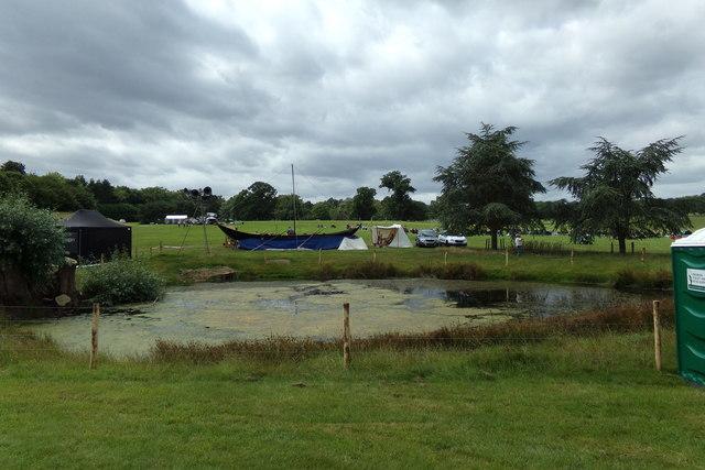 Pond at Haighley Park