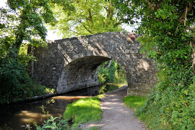 Llanwenarth Bridge ( No 99), Mon and Brec canal