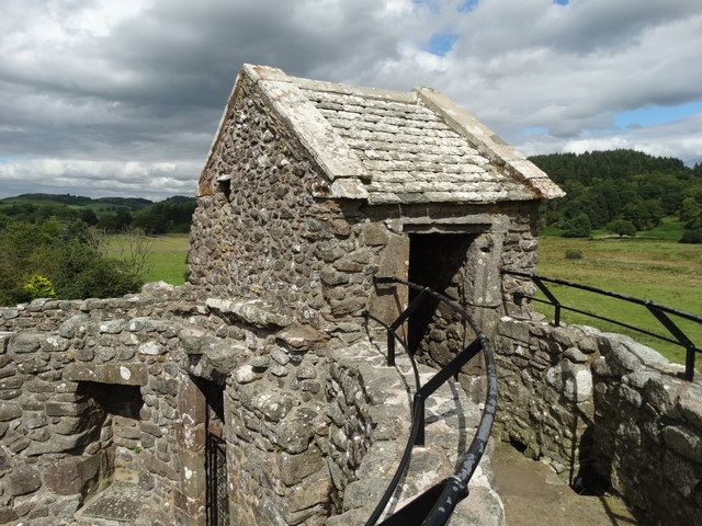 On top of Orchardton Tower