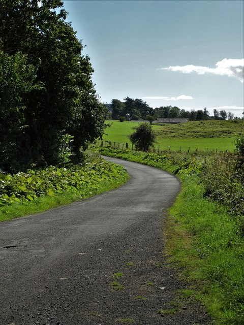The road to Blackhill and Dromore