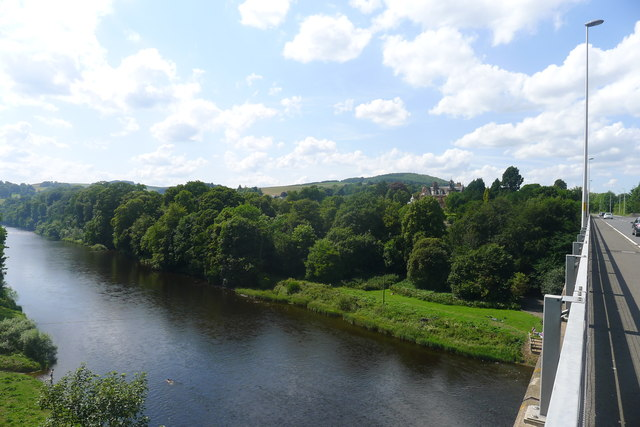The River Tweed from the A6091