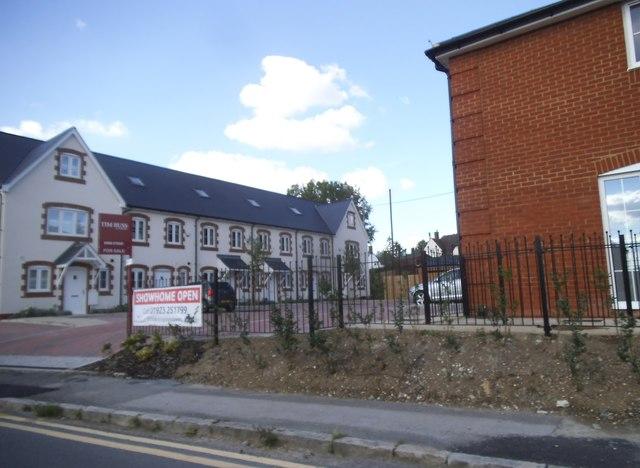 New houses on Poppy Road, Princes Risborough