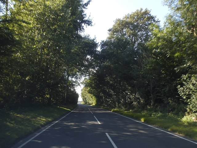 Thame Road south of Thame