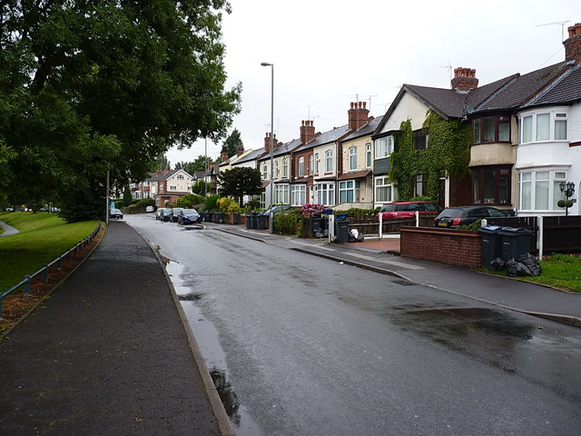 A damp morning in Stockland Green