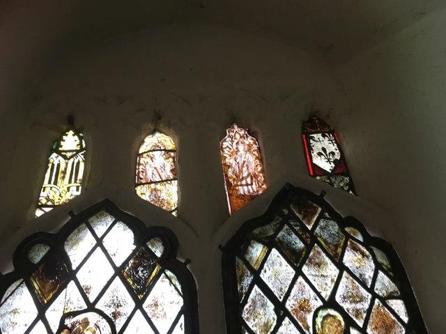 Window in the Chancel Detail 3