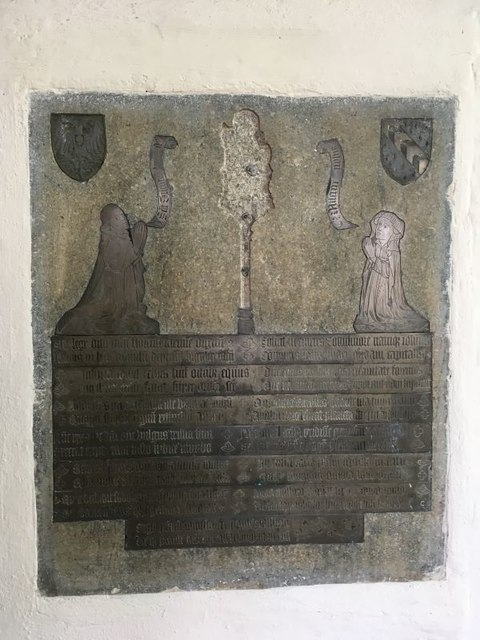 Church Brass in the Chancel