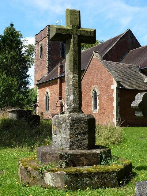 Medieval cross at Barston