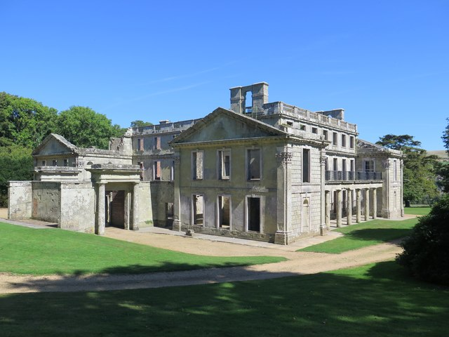 Appuldurcombe House, view from south-west corner