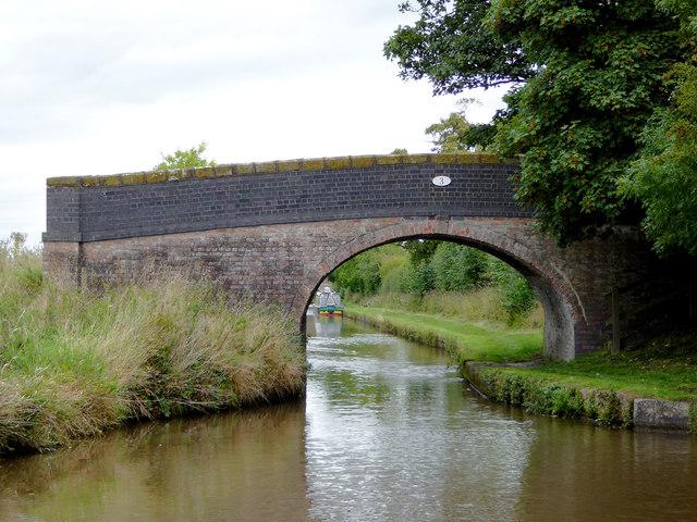 Martin's Bridge north of Burland in Cheshire
