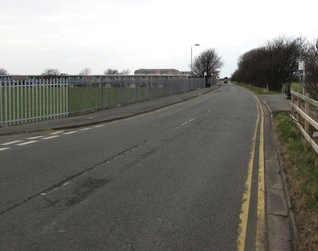 Barkby Avenue towards the coast, Prestatyn