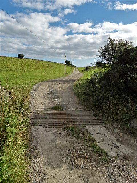 The track to Blackcraig