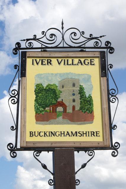 Iver - village sign