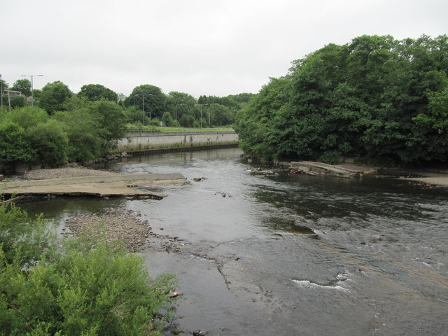Confluence of the River Neath and the Dulais