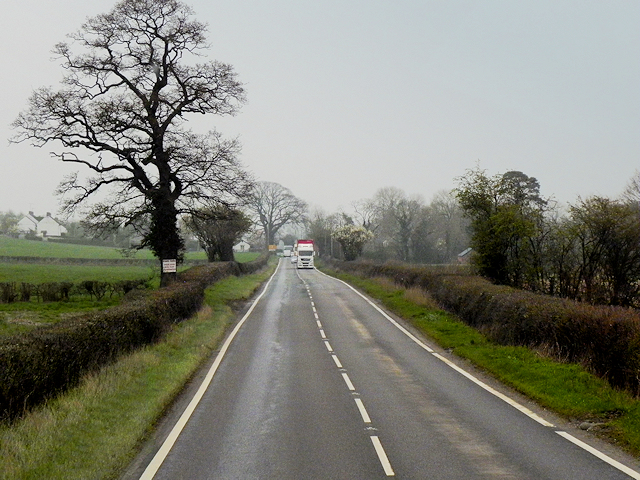 A483 near to Pool Quay