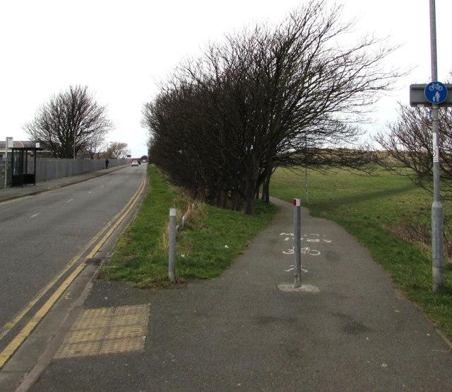 Footpath and cycleway, Prestatyn