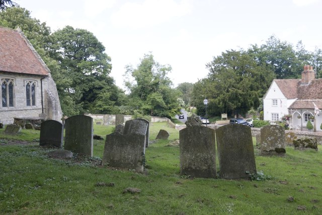 Churchyard by the Path