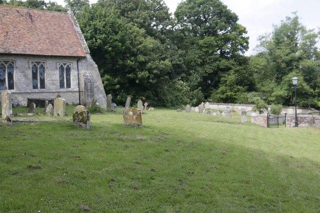 Far end of the Churchyard