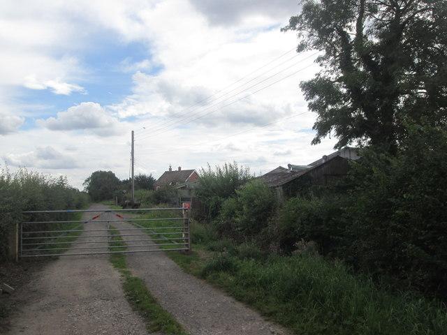 Approaching Kirk Moor Farm