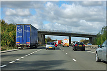 SK8443 : A1 northbound by Robin Webster