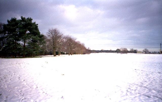 Bulmershe Playing fields Woodley