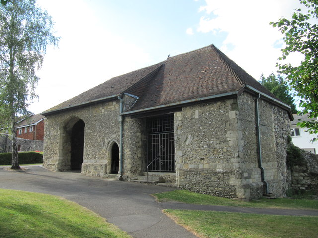 Hyde Gate: the only remaining part of Hyde Abbey