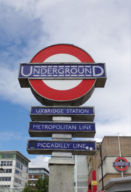 Underground - Uxbridge Station