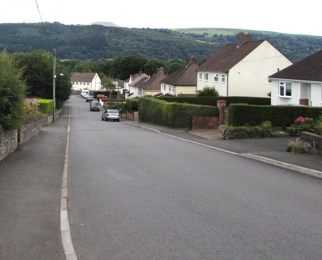 Down Common Road, Gilwern