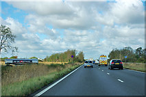 SK8542 : A1 northbound by Robin Webster