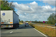 SK8642 : A1 northbound by Robin Webster