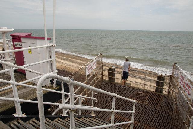 Britannia Pier landing stage
