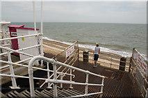 TG5307 : Britannia Pier landing stage by Oliver Mills