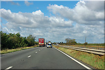 SK8741 : A1 northbound by Robin Webster