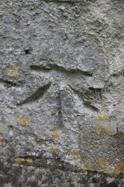Benchmark on St Bartholomew