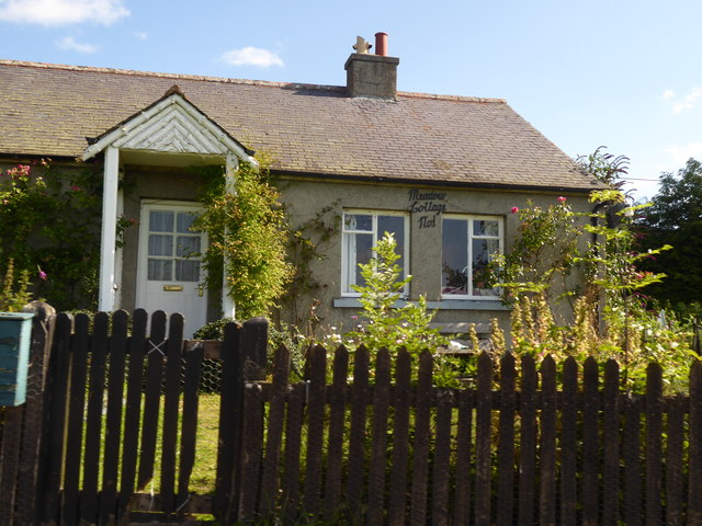Meadow Cottage No.1, Migvie.